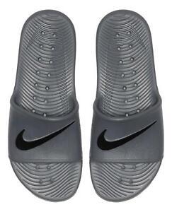 Nike Sportswear Men's Kawa Shower Slide Sandal (Dark Grey/Black) 832528-010