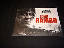 stallone john RAMBO rare dossier presse cinema 40 pages