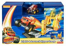 Blaze and the Monster Machines Light and Launch Hyper Loop *BRAND NEW*