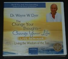 Dr Wayne Dyer THE CHANGE YOUR THOUGHTS CHANGE YOUR LIFE SEMINAR CD's + Bonus