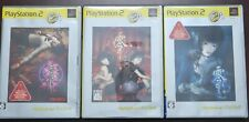 PS2 Fatal Frame Zero Set of 1,2,3 Crimson Butterfly PlayStation 2 Games