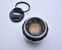 Nikon Nippon Kogaku Japan NIKKOR-S 50mm f/1.4 Lens Caps & Filter Ai'd (4152)