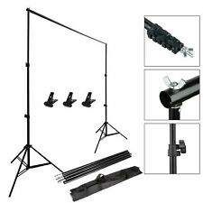 Backdrop Support Adjustable Stand Kit Studio Photo Background Photography 10ft
