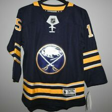 NHL Buffalo Sabres #15 Hockey Jersey New Youth Size L/XL MSRP $100