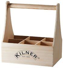 Kilner Wooden Wine Bottle Carrier. Ideal for Carrying Beer lemonade bottles 6