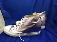 Converse, 556779C, Hidden Platform, Wedge, Pink/fuschia, Women's Size 11 Shoes