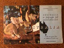Lyons Tea Cards Australia album, 1958