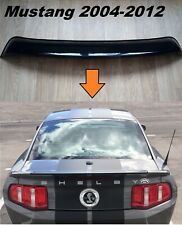 Ford Mustang Roof Spoiler Tail Window Wing Deflector Visor 2005-2012