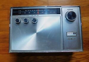 Vintage Philco Ford  AM FM AFC Radio 12 TRANSISTOR