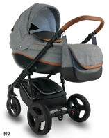 Baby Pram IDEAL NEW bexa Pushchair Buggy Stroller + Car Seat, 4in1 Travel System