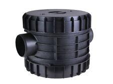 Intewa PLURAFIT Filter mit Filtersieb Edelstahl, Wandmontage Regenwasserfilter