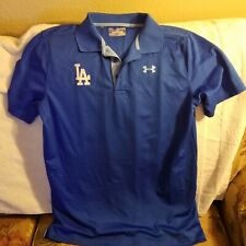 LOS ANGELES DODGERS POLO SHIRT - YOUTH XL - UNDER ARMOUR
