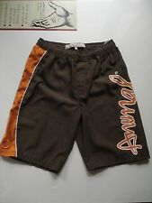 Animal Brown/Orange Board Shorts, Size XL, Waist 28-30 Inches.