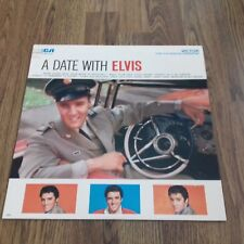 ELVIS PRESLEY - A DATE WITH ELVIS LP 1977 RCA VICTOR NEAR MINT