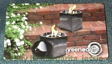 "GREEN EARTH CANADA GIFT CARD ""FIRE POT"" NO VALUE NEW COLLECTIBLE"