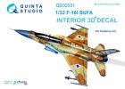 Quinta QD32031 1/32 F-16I 3D-Printed  coloured interior for Academy kit