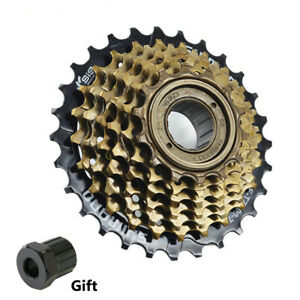Shimano MF-TZ500 7 Speed Mountain Bike Bicycle Freewheel Index-Screw On 28T