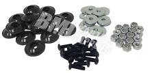 Go Kart Racing Black Plastic Washer for Fiberglass Body Mounting Kit Set New