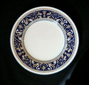 Beautiful Wedgwood Florentine Dark Blue Bread Plate