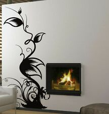 "Vinyl Wall Decal Sticker Floral Leaves Custom 60""x32"""