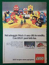 S150 Pubblicità Advertising Clipping 19x13 cm (1977) LEGO WEST OSPEDALE
