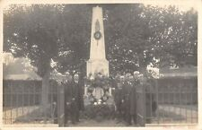 CPA 78 CARTE PHOTO MAULE MONUMENT PHOT.ROUVRAY