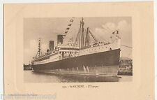 St. Nazaire, L'Espagne, Shipping Postcard, B516