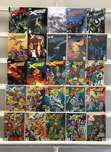 X-force Marvel 25 Lot Comic Book Comics Set Run Collection Box