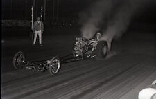 Fred Rousey 'Banzai' Front Engine Dragster @ OCIR - Vintage 35mm Race Negative