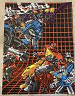 The Transformers G1 Poster Soundwave VS Blaster Art Print Rare Tim Doyle mondo