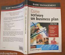 Come scrivere un business plan Brian Finch Franco Angeli 2007 Basic Managment