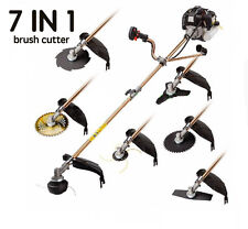 52cc Multi 7 in1 Petrol Strimmer Grass Trimmer Brush/Bush Cutter Whipper Snipper