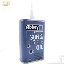 Abbey Gun & Rifle Oil Lubricant Shotgun Airgun Air Hand Pistol Lube 125ml