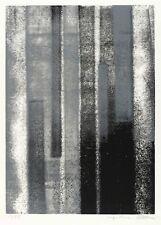 INGE THIESS-BÖTTNER - KOMPOSITION - Farbsiebdruck / Farbserigrafie 1989