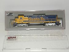 "ATLAS N scale 48732 DASH 8-40B SANTA FE BNSF #8615 ""PATCH JOB"" DCC READY"