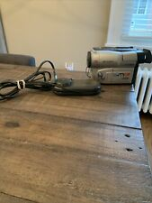 Samsung Scl906 Hi-8 8mm Video8 Camcorder - Tested Works With Battery & Charger