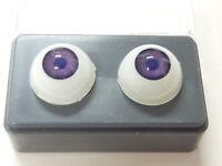 24mm  ME10 Warm Brown Reborn Doll Eyes Acrylic half round  FAST SHIPPING