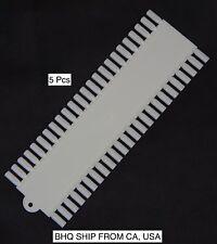 Nail Art 48 False Nails Palette Plastic Tips Display And Practice Board (5Pcs)