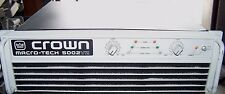 Crown Macro Tech MA-5002vz Professional 2 Channel Power Amp Bridge-Mono 5000W