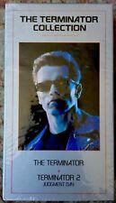 Terminator 1 & 2 VHS Boxset Judgment Day James Cameron