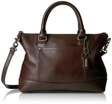 NWT Tignanello Smooth Operator Conv. Satchel, Brown/Dark Brown, MSRP:  $175.00