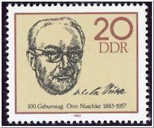 [CF2236] DDR 1983, I Cent. del nacimiento de Otto Nuschke (MNH)