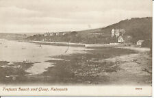 PC25454 Trefusis Beach and Quay. Falmouth. Lake series. No 69470