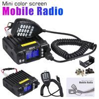 QYT KT-7900D Quad Band Quad-Standby 5Tone VHF 25W Car/Truck Ham Mobile Radio UP