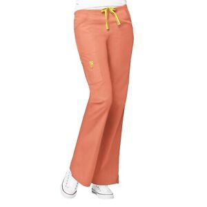 WonderWink Scrubs ORIGINS Women's Lady Fit Flare Leg Cargo Pant Regular XXS-5X