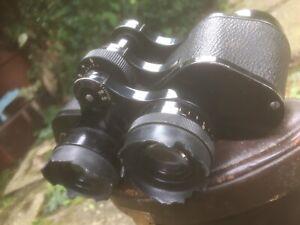 Vintage Carl Zeiss Germany, 8 X 30 B Binoculars Case, AF.