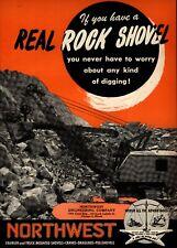 1951 Northwest Engineering Co. Print Advertisement: Taylor Lime & Stone, Inc.