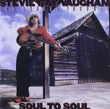 STEVIE RAY VAUGHAN Soul To Soul 180gm Vinyl LP 2012 NEW & SEALED Music On Vinyl