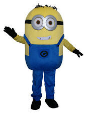 Minions Adult Mascot Costume Cosplay Fancy Dress Outfit UK