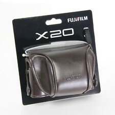 Fujifilm X20 Faux Leather Cover Pouch Soft Case for Fuji X10 X20 X30